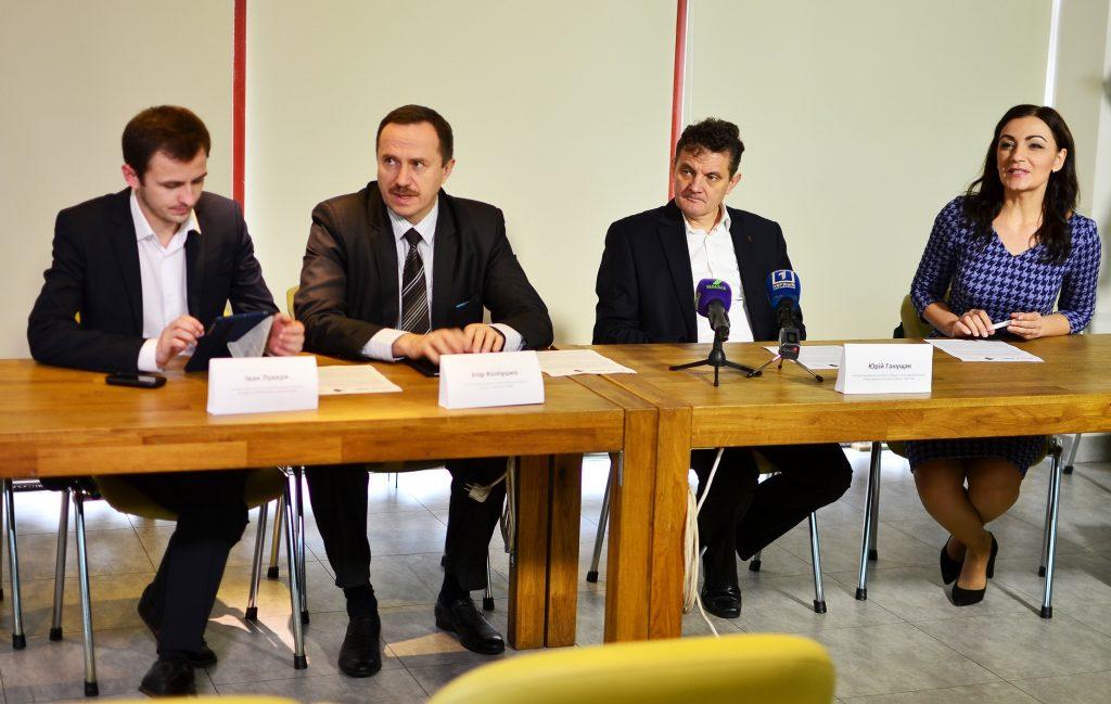 Игорь Колиушко, глава Центра политико-правовых реформ, главный эксперт группы «Конституционная реформа» Реанимационного пакета реформ, второй слева