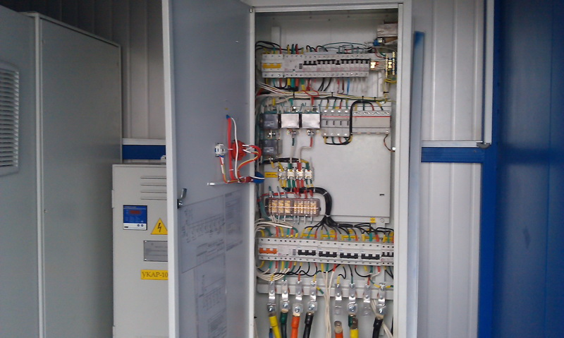 Оборудование на электростанции в г. Теплодар
