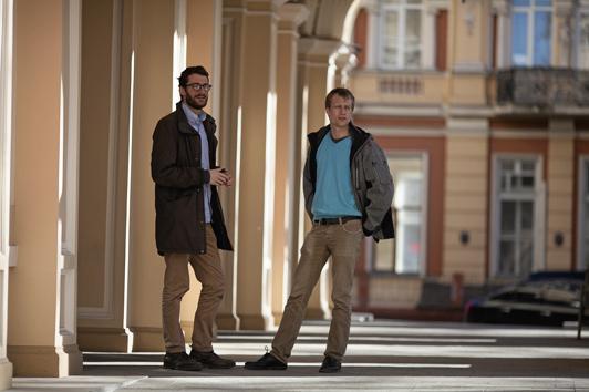 Андреас Флодстром и Густав Хенман - основатели ИТ-компании Beetroot