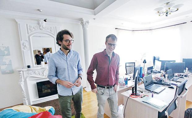 Одесский офис больше похож на квартиру - дружественная атмосфера и домашние тапочки