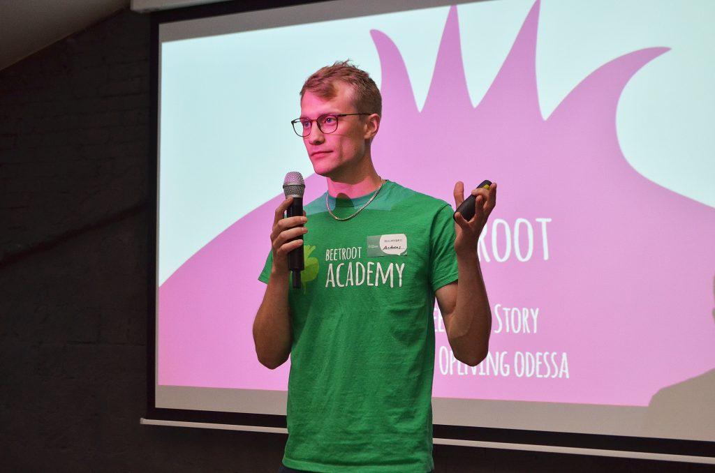 Андреас Флодстром рассказывает о Beetroot Academy