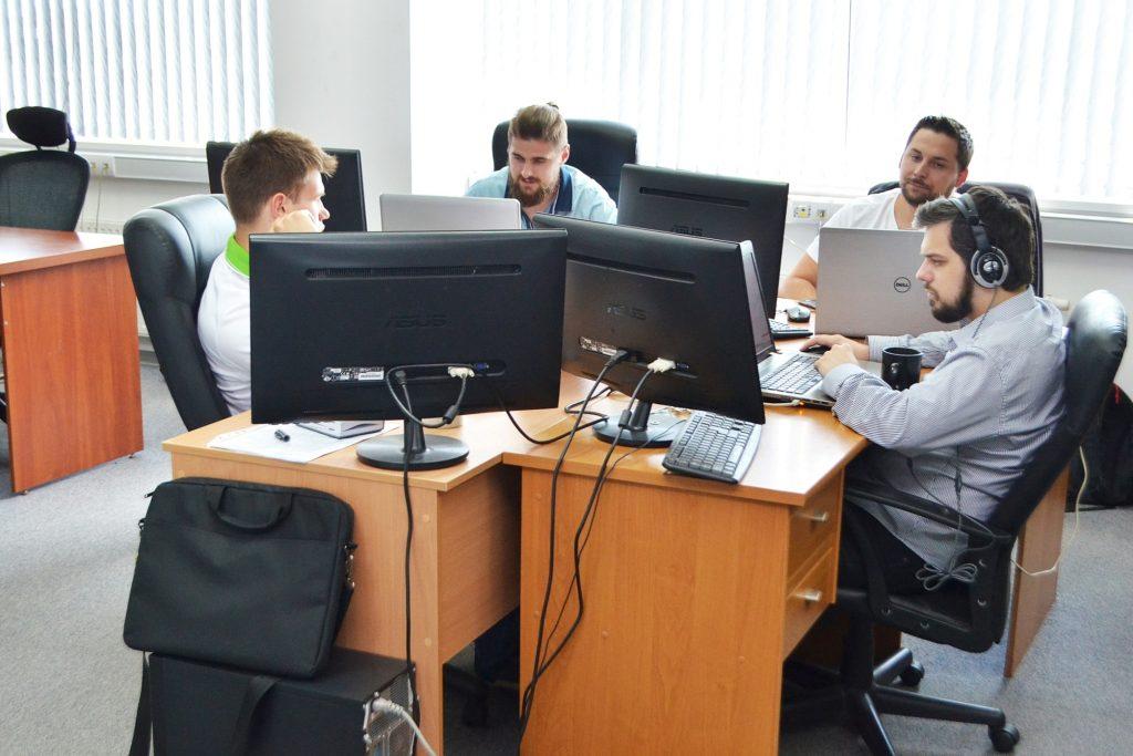 Сотрудники одесского офиса компании