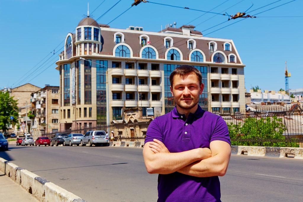 Олег Шкуропат, руководитель Одесского офиса компании Ciklum