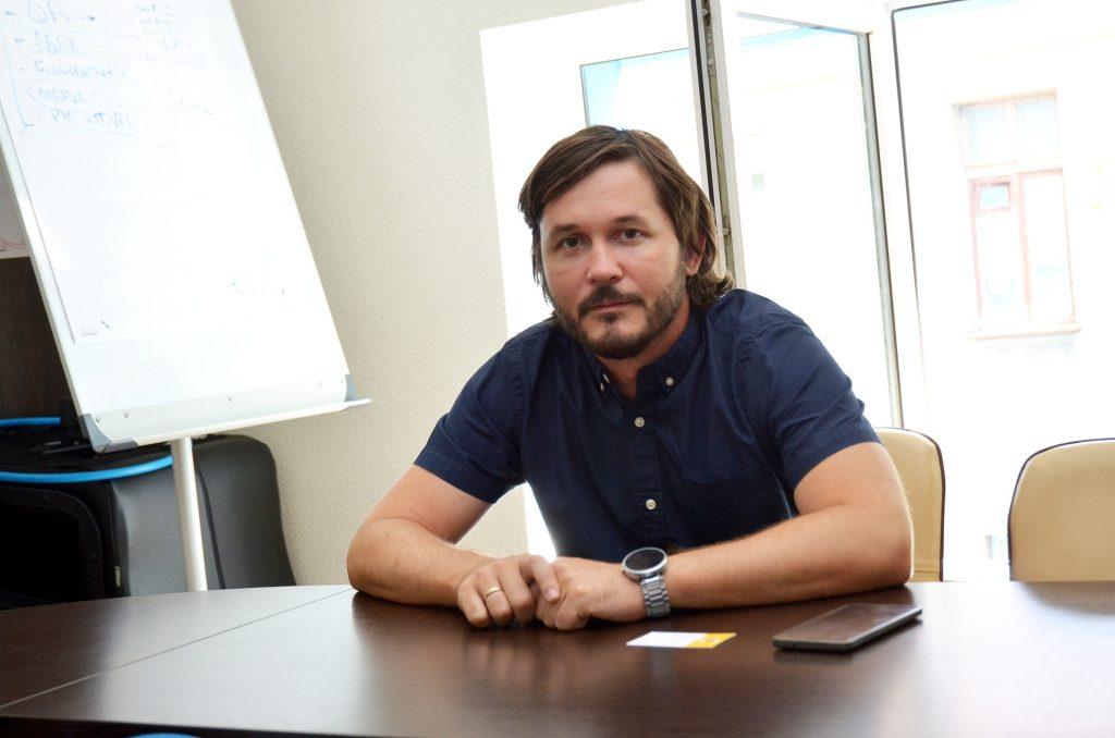Руководитель украинского подразделения компании Norse Digital Сергей Пущин.