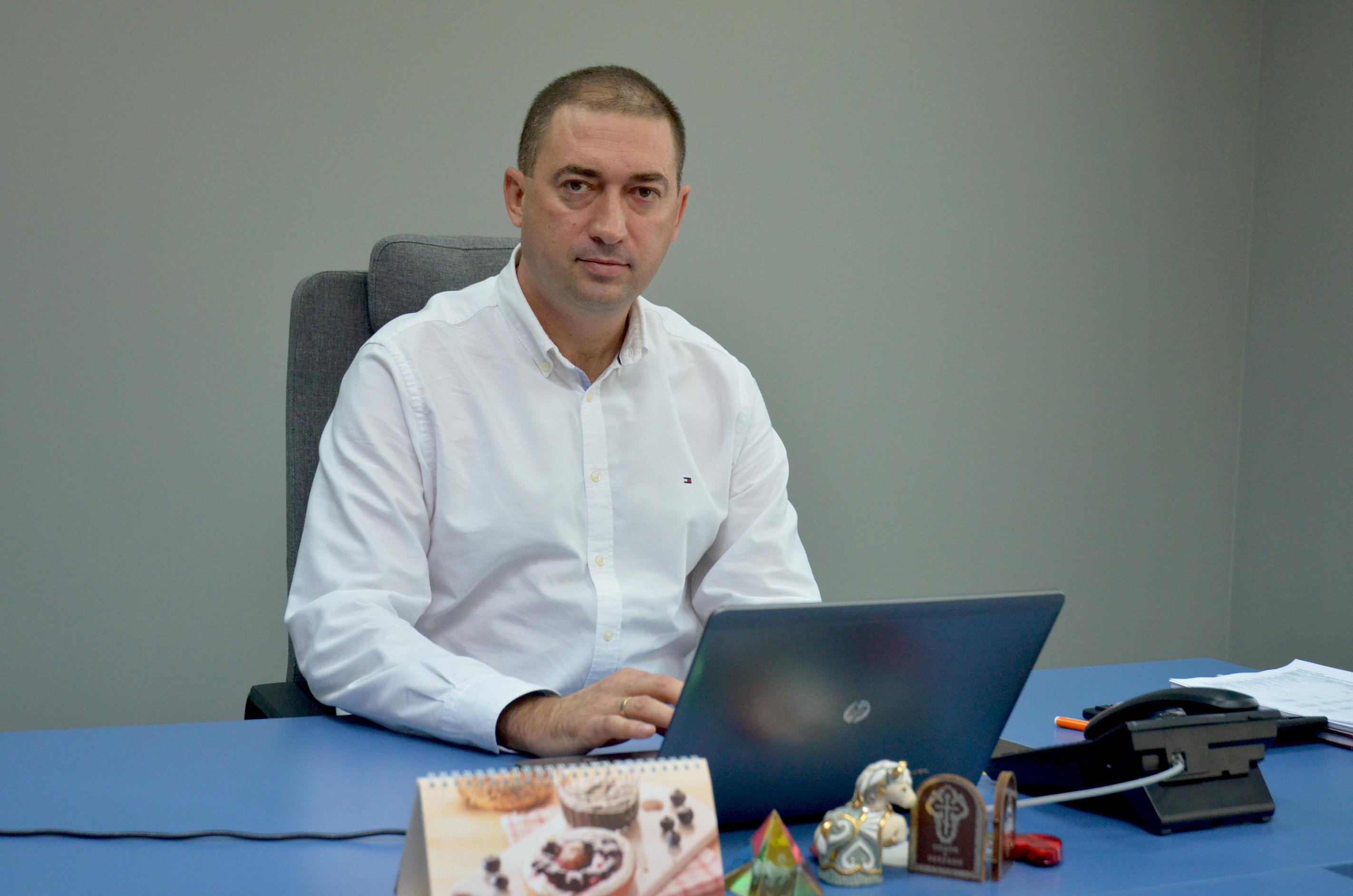 Генеральный директор украинского подразделения компании Сергей Соловей