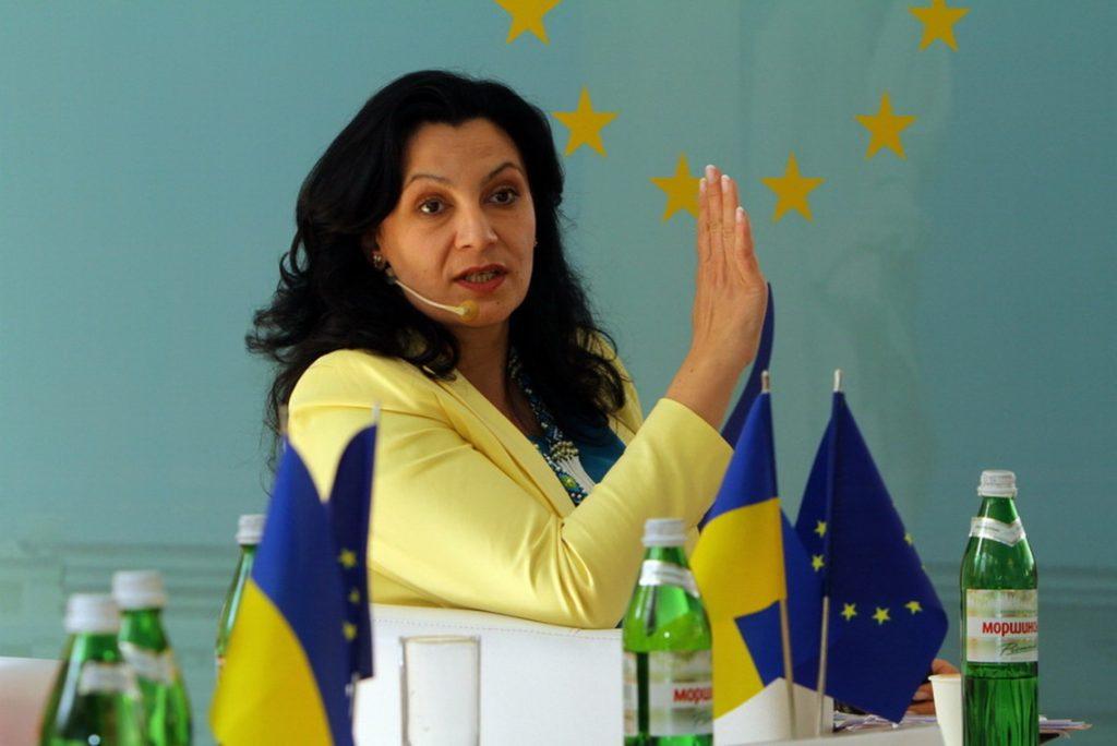 Вице-премьер по вопросам евроинтеграции Иванна Климпуш-Цинцадзе