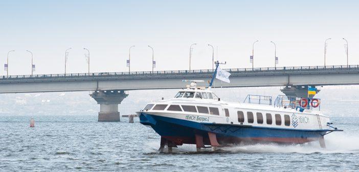 Речные пассажирские перевозки в Украине: прошлое, настоящее и будущее
