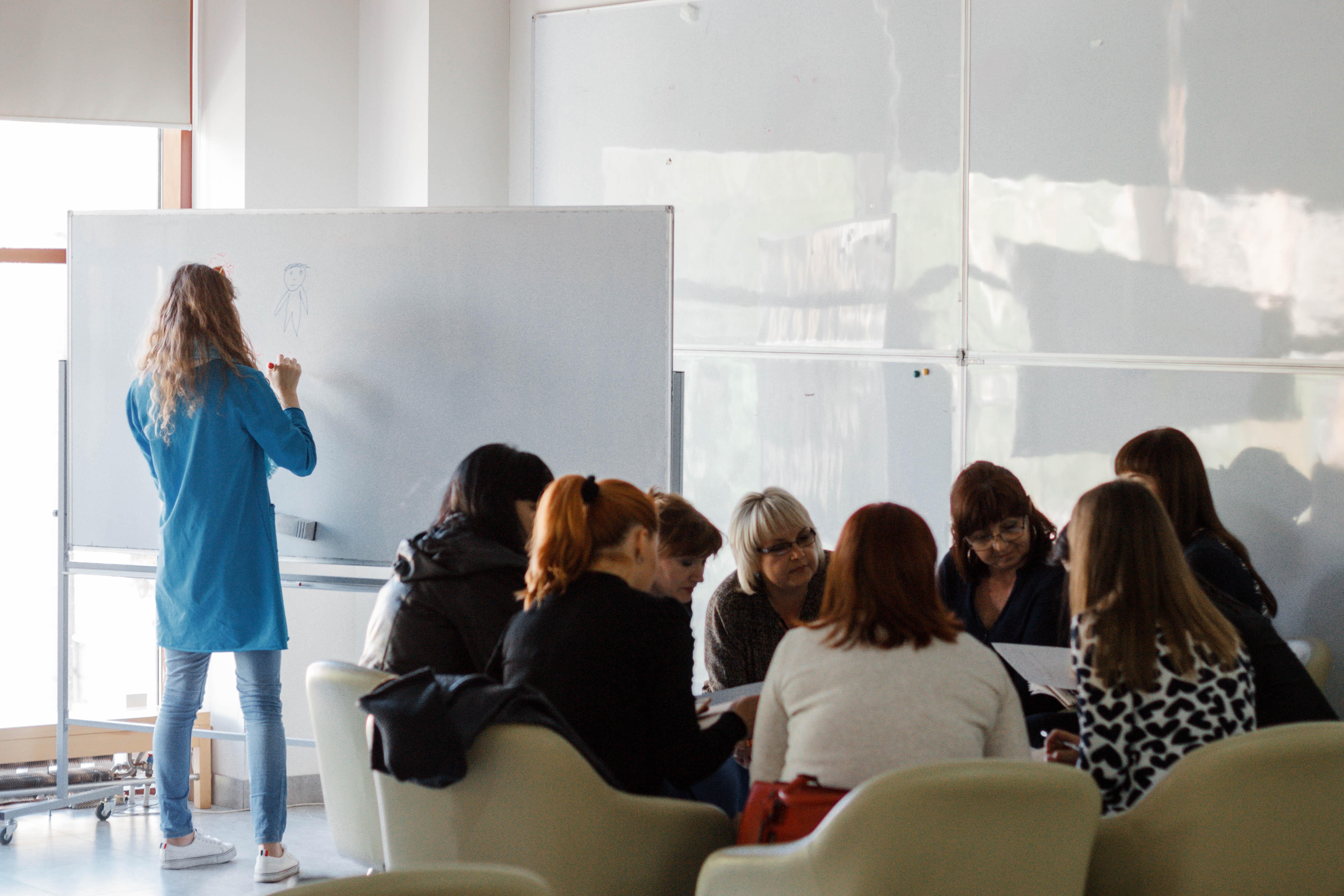 Навчання для викладачів: як в Одесі тренують навички шкільним учителям