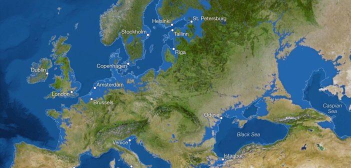 Затопит ли Одессу если на планете растают льды? Карта