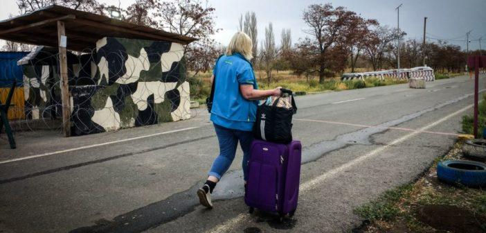 Война и мир : более половины украинских переселенцев – женщины